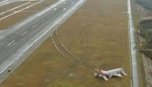 Asiana plane skids off runway at Hiroshima, Japan