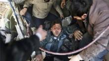 Children killed in shelling of Damascus suburbs
