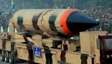 India test-fired Nuclear-capable Agni-III ballistic missile