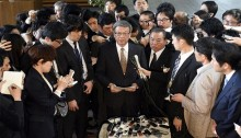 Japanese Prime Minister and southern island governor clashes over US air base