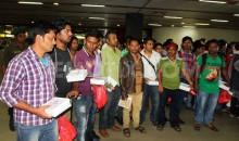 337 Bangladeshis return home from Yemen finally