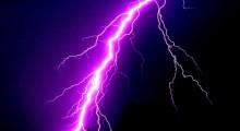 Lightning kills 5 in two dists