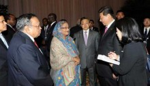 PM talks with Chinese president