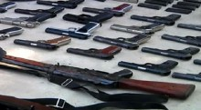 Carrying of licensed arms banned for 7 days