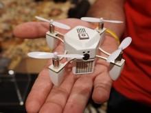 Zano: The tiny clever smartphone-controlled nano drone (Video)