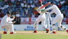 West Indies v England: Kraigg Brathwaite makes ton for hosts
