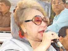 Ban on Khaleda?s election campaign