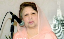 Khaleda demands army deployment in city polls