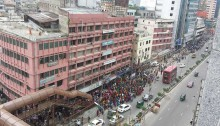 200 RMG workers injured during aftershock