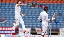 West Indies v England: James Anderson inspires victory