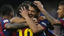 Barca five points clear of Madrid