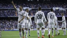 James Rodriguez scores stunning volley in Real Madrid win