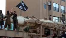 At least 25 IS militants killed in Syria factory blust
