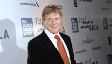 Veteran Actor Robert Redford Honored with Chaplin Award