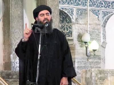 Isis leader incapacitated with suspected spinal injuries after air strike