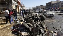 Five car bombs kill 17 across Baghdad