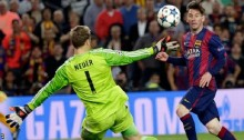 Messi puts Barca in charge over Bayern Munich