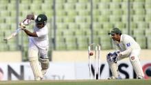 Kayes out, Bangladesh chasing 550
