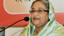 Hasina inaugurates new structures at BSMRAU