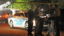Report: 2 police officers shot dead in Mississippi; one suspect still at large