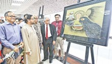 Bashundhara Paper Drawing Exhibition begins in city
