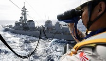 Philippines, Japan to hold naval drill in South China Sea