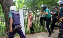 Police attack on student leaders and some questions