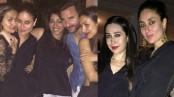 Kareena rings in her birthday at Pataudi Palace with Saif, Karisma