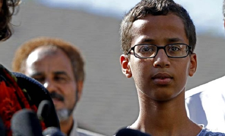 Muslim boy handcuffed for making clock is guest at google fair
