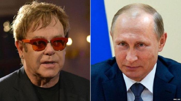 Putin offers to meet Elton John after gay rights call: Kremlin