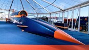 Bloodhound 1,000mph car unveiled