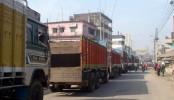 Import-export resumes thru' Hili Land Port