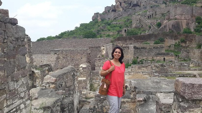 A walk in the Ruins of a Kingdom: Golkonda Fort