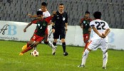 Bangladesh-Bhutan match end 1-1 draw
