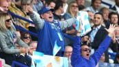 Maradona waddles out victory dance with Pumas after rugby win