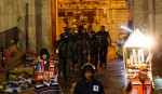 Israel bars Palestinians from Jerusalem's Old City