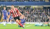 Five-goal Aguero fires City top, Chelsea crisis deepens