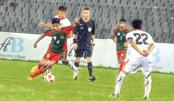 Bangladesh held by Bhutan, Uzbekistan beat Sri Lanka
