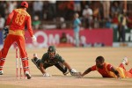 The umpire couldn't see the ball: Chigumbura
