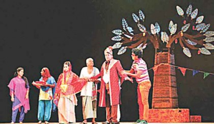 Kuhakjal staged at Shilpakala