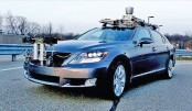 <p>Toyota unveils self-driving car</p>
