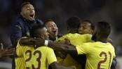 Argentina stunned as Ecuador score upset win