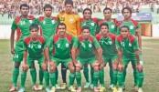 Bangladesh football team off to Kyrgyzstan