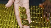 3 Malaysian nationals detained with 45kg gold bars at Shahjalal Int'l Airport
