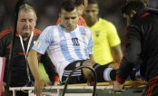 Argentina forward Aguero will miss next World Cup qualifier