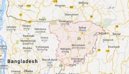 Three children of a family missing in Sylhet