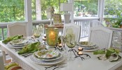 Ways to set your dining table in party