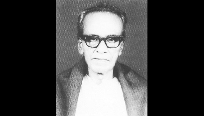 36th death anniversary of Mukundalal Sarker Tuesday