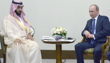 Putin meets Saudi prince on 'political solution' in Syria