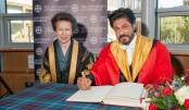 Shah Rukh Khan receives an Honorary Degree